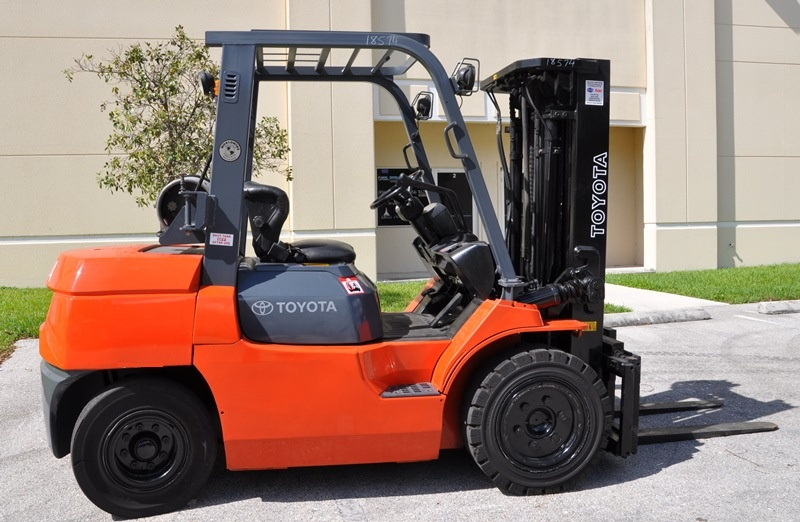 Used Reconditioned Toyota Forklifts in Ft. Lauderdale